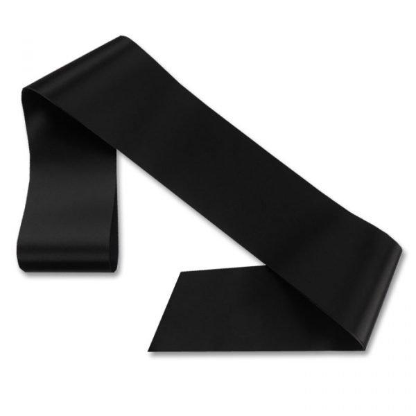 black blank sash