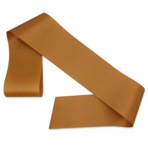 antique gold blank sash