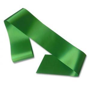 blank green sash