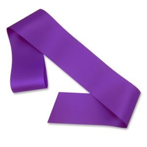 purple blank sash