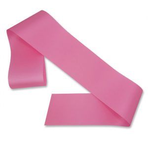 blank pink sash