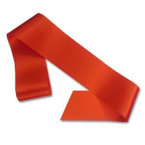 blank orange sash