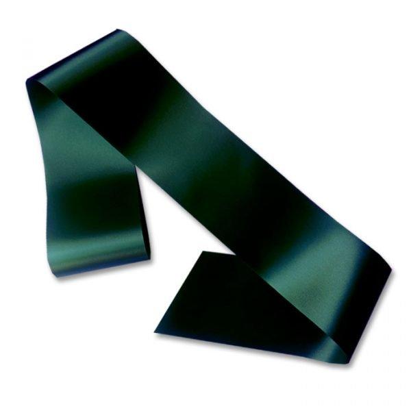 bottle green blank sash
