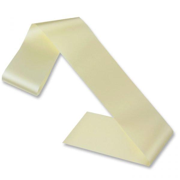 cream blank sash