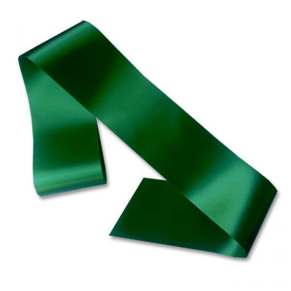 dark green blank sash