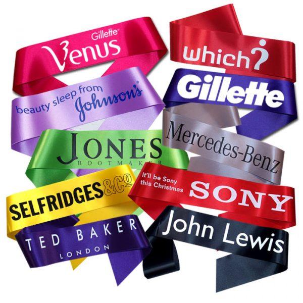 promotional sashes