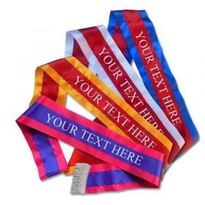 championship sash